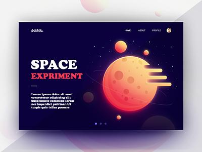 Space experiment web ui illustration pakistan arslan space