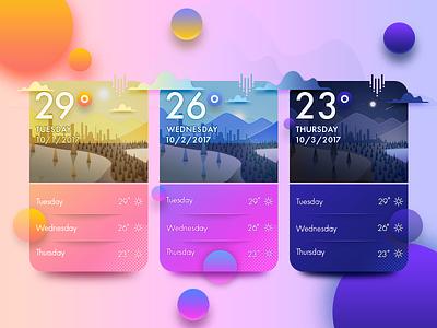 Weather pakistan arslan temperature illustration night evening morning concept app weather