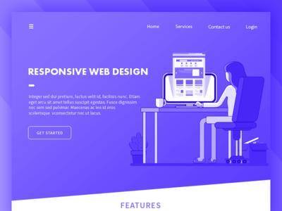 Responsive Web Design coffe designer illustration design web responsive