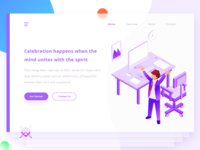 Workspace Landing Page ( 2 Invites )