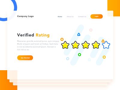 Verified Rating pakistan arslan illustration rating page landing verified