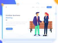 Outdoor Business Meetings