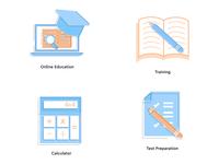 Study Icon set