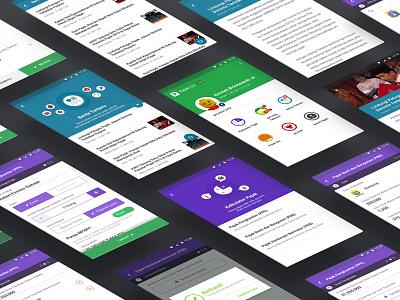 PajakApp: Kalkulator Pajak (revamped) redesign mockup android tax mobile app ui
