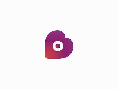 Heart Fish claudiofrs pink purple dating nearby heart logo brand