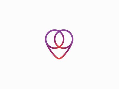 Heart Ring claudiofrs pink purple dating nearby heart logo brand