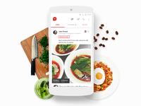Hifoodies - Mobile App Design Prototype