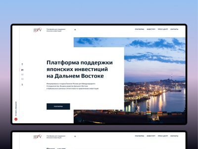 Japanese Project Promotion Vehicle in the Far East LLC finance website web design ux ui investments japan investing investor