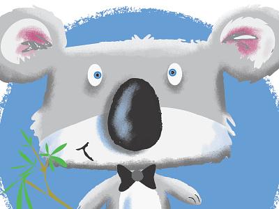 Koala Character illustrator photoshop illustration humour humor character cartoon