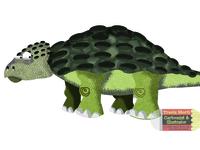 Ankylosaurus Illustration