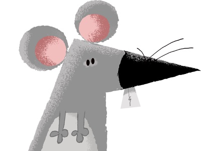 Mouse Illustration character design mouse animal illustrator vector design photoshop illustration humor humour character cartoon