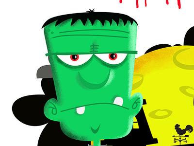 Halloween Illustration character design monster halloween childrens illustrator vector design photoshop humour illustration character humor cartoon