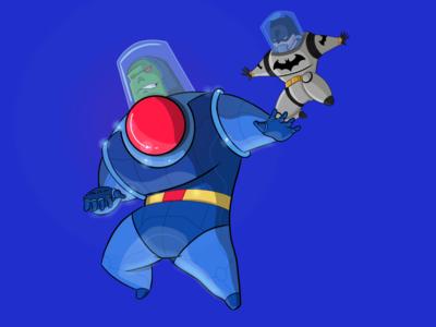Sneaking op the Darkseid
