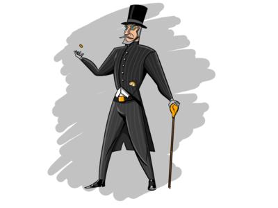 Banker (Character design)
