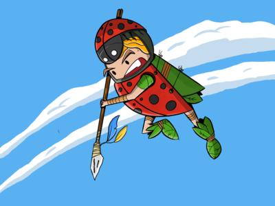 Ladybug warior