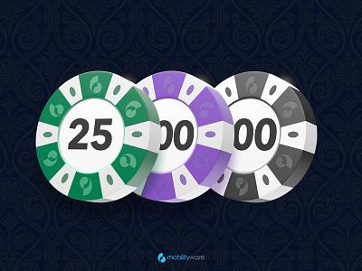 Blackjack Chips mobilityware chips casino blackjack 3d