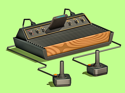 The best summers were spent playing on my Atari