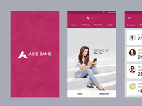 Axis Google material Concept