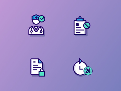 Medical project icons V.1 stroke icons ui icons medical icons sketch app
