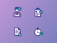 Medical project icons V.1