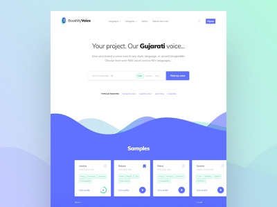 Landing Page website design homepage design clean ui brewex voices community minimal landingpage ux ui