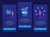 Onboarding screen for Applocum app