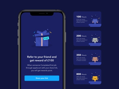 AppLoyalty Rewards Points ui  ux hire doctor 24designstudio rewards uidesign