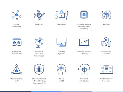 Data Security Protection   Iconography part 02 icon sets userexperience iconography subtle icon set line icons uidesign