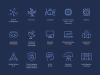 Data Security Protection | Iconography Dark