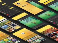 A new set of app design