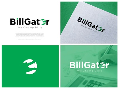 BillGator Logo Design