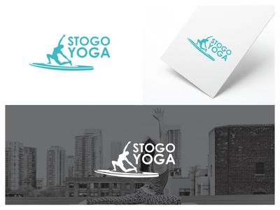 Stogo Yoga Logo Design