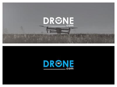 Drone.com Logo Design