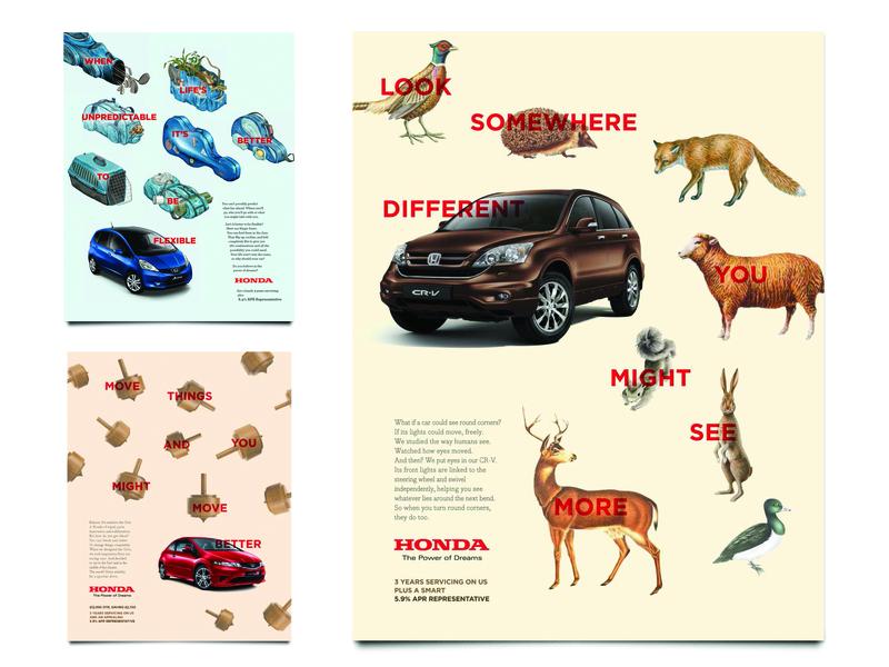 Honda P2 Press honda design poster press ad