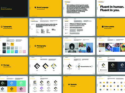 Constellation AI Brand Guidelines brand guide brand guidelines branding