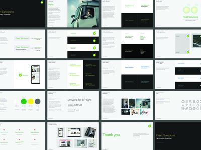 BP Fleet solutions brand guidelines style guide brand design guidelines branding