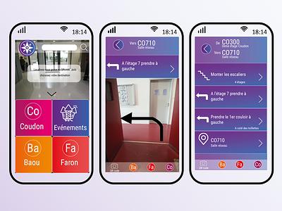compass MMI student graphic graphisme design mmi localisation ios app design