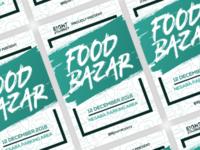 Food Bazaar Poster Design