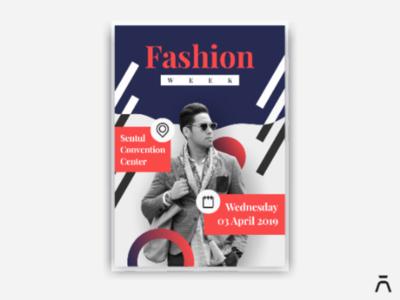 Fashion Week Poster Design