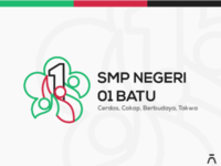 SMP Negeri 01 Batu Logo Redesign