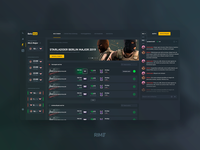 BetsHub - design of the bookmaker
