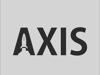 Axis Rocket Logo dailylogochallange designgraphic logoinspiration design logo