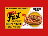 Fast Food Banner