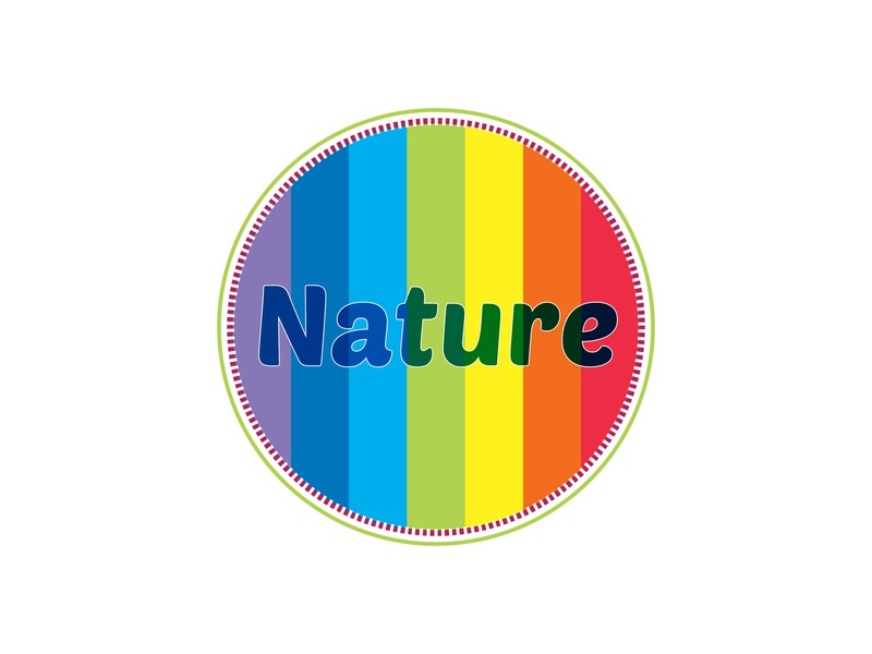 Nature nature graphic design