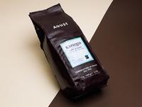 Agust coffee - packaging design