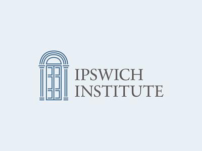Ipswich Institute Logo branding flat logodesign logo