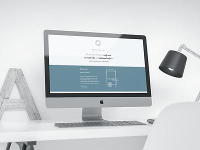 Carts & Crafts Website webdesign web website design branding