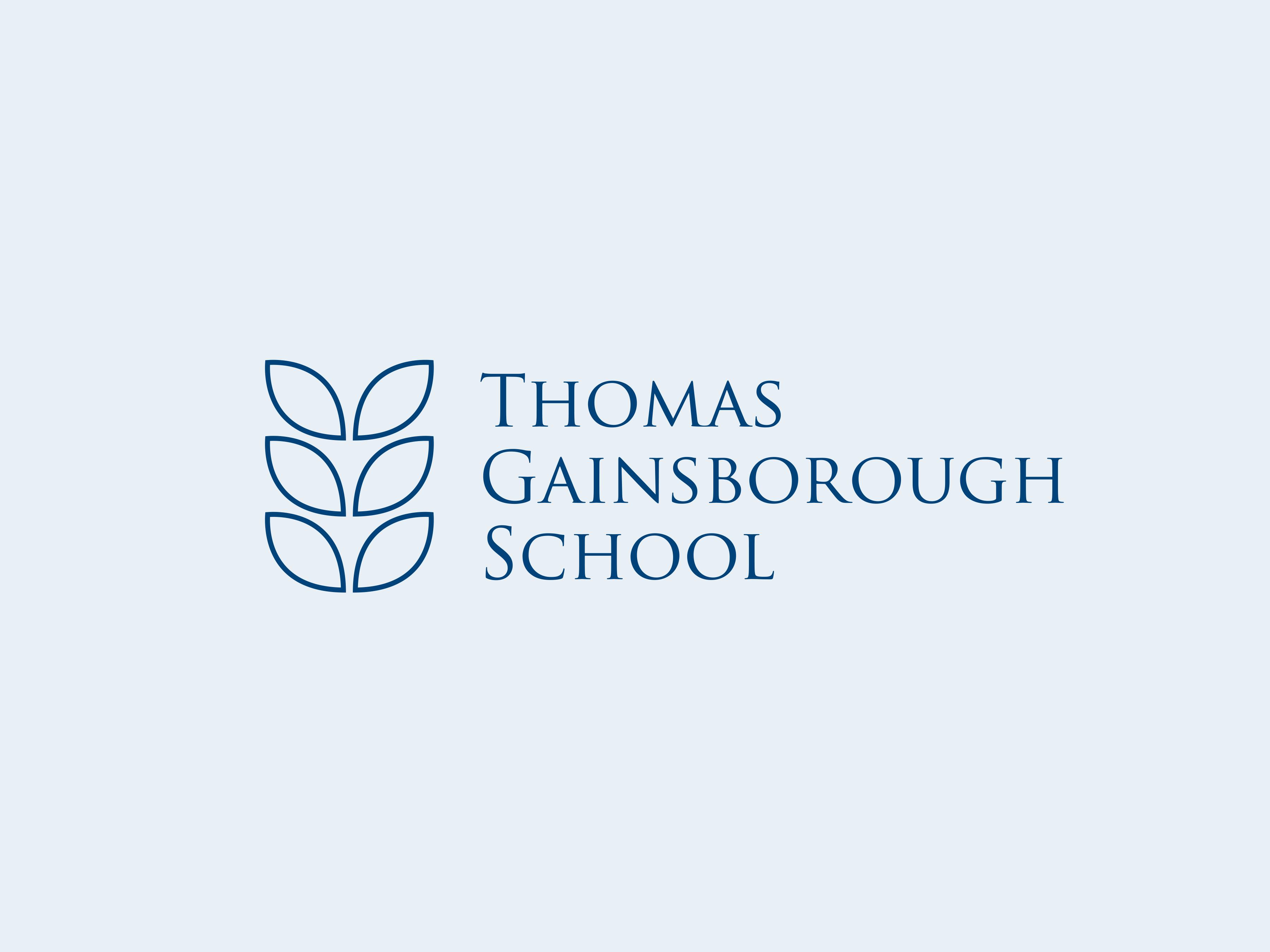 Thomas gainborough school logo