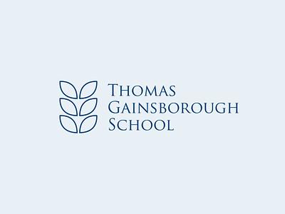 Thomas Gainborough School Logo design logodesign logo branding