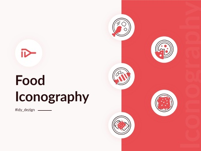 Food Iconography icons design food illustration ui design webdesign food app product design uidesign website vector illustration logo 2020 ux ui icon design iconography icons pack iconset icons